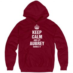 Let Aubrey handle it