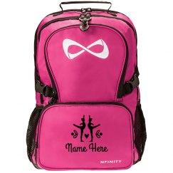 Custom Name Dance Ballet Backpack