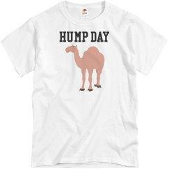 White tee w/camel