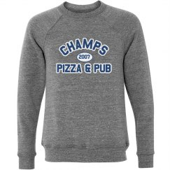 Champs 3 - Grey, Blue & White sweatshirt