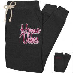 Home vibes joggers - charcoal