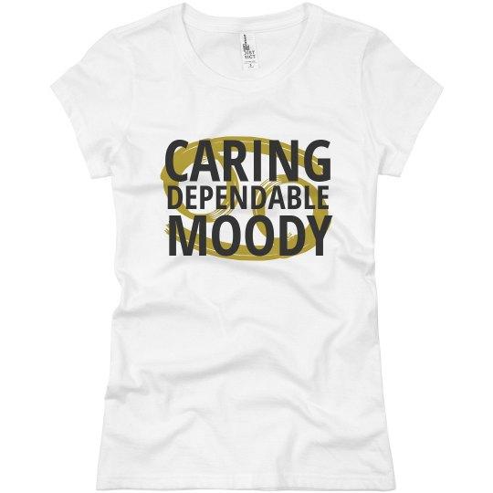 e08ec5c77f Cancer Traits Ladies Flowy Long Sleeve Off The Shoulder T-Shirt