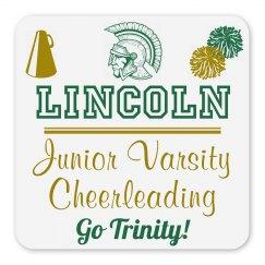 Lincoln Junior Varsity Cheerleading Magnet_Item50C-1