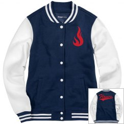 Liberty flames women's jacket.