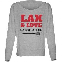 Lacrosse And Love Girlfriend