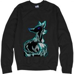 Black Ice Fox Sweatshirt