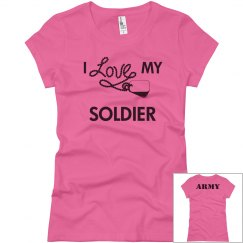 I love my us army soldier