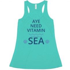 Aye Need Vitamin Sea Pirate