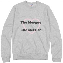 The Morgue The Merrier Sweatshirt Grey