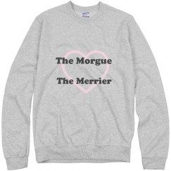 The Morgue The Merrier Sweatshirt Grey