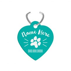 Custom Name & Number Pet Tag