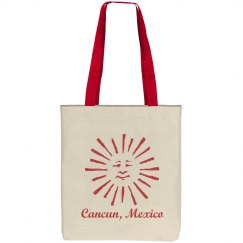 Cancun Mexico Beach Bag