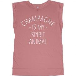 Champagne Spirit Animal Pearlescent
