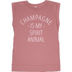 Champagne Spirit Animal Pearlescent