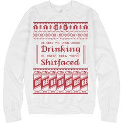 Watch Out Ugly Sweater