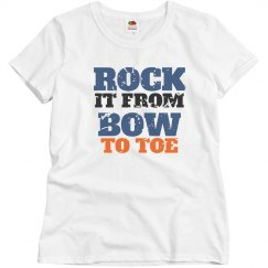 Adult Rock it From bow to