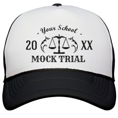 Custom Hat Mock Trial