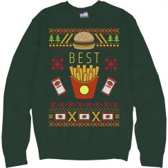 Burger & Fry Bff Ugly Sweater 1
