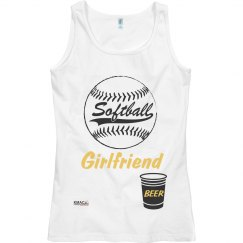 Lady Softball Girlfriend