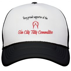 Sin City Titty supporter hat