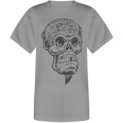 Skull Bandanna Youth Tshirt