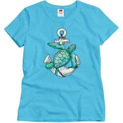 Sea Turtle Woman's