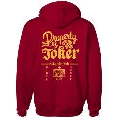 Property Of Joker Hoodie