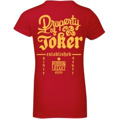 Property Of Joker Kids Costume Tee