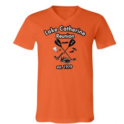 Lake Catherine 40 year reunion - For Men V Neck