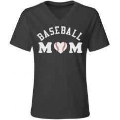 Gray Baseball Mom