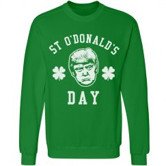 Funny Happy St. O'Donald's Day