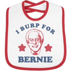 Baby Burp for Bernie