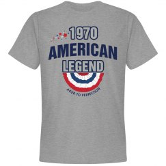 1970 american legend shirt