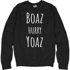 Boaz Hurry Yoaz