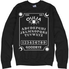 Ouija Board Halloween Sweatshirt