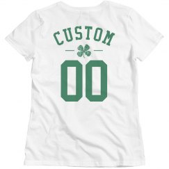 Custom Name/Number St Patrick's Day