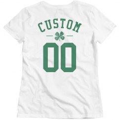 Custom Name/Number St Patrick's Day