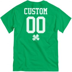 Custom St. Pat's Group Green Shirts