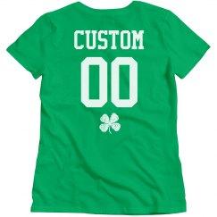 St. Patricks Green Add Name Number