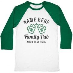 Family Name Pub Tee