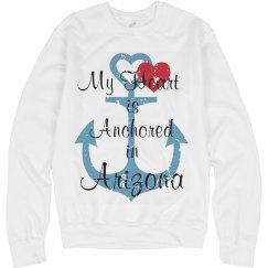 Heart anchored in Arizona