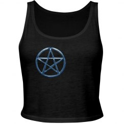 Blue Pentacle Tank Top