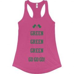 Green, green, green, go, go go!