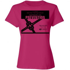17th Annual Mid-Year Ladies T-Shirt- Sangria Pink