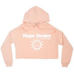 Hope Dealer Crop Hoodie
