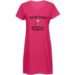 Keep Calm - Margarita blue