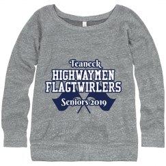 """Senior"" 2019 Flagtwirler Sweatshirt"