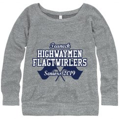 """Senior"" 2019 Flagtwirler Sweatshirt"