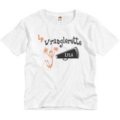 Wranglerette tee w/name