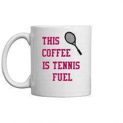 Coffee is tennis fuel